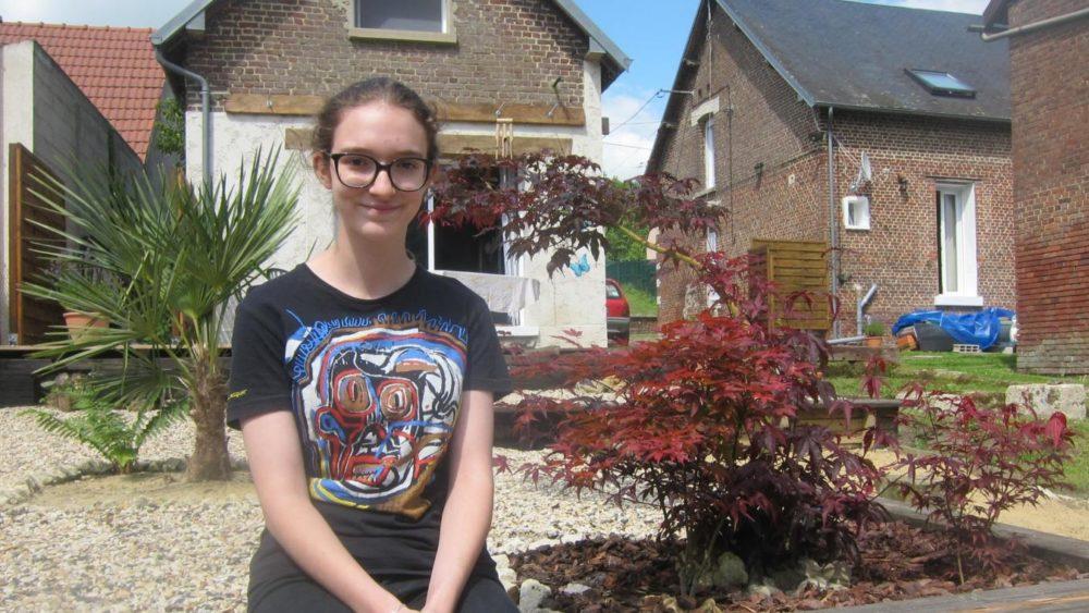 Laurasia plus jeune candidate à passer l'épreuve du Bac dans l'Aisne en 2018