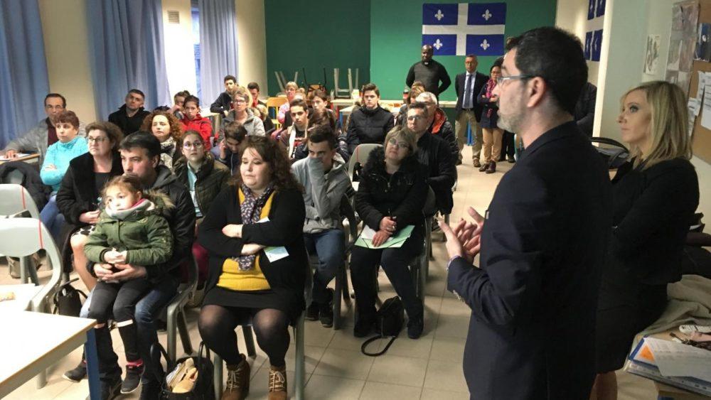 Après les États-unis et la Chine, des lycéens de Chauny iront au Québec