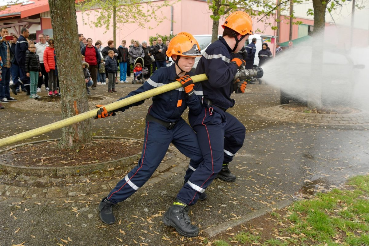 Ouverture D Une Section Jeunes Sapeurs Pompiers à Saint