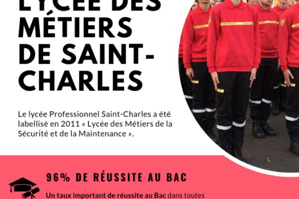 Atouts du Lycée des Métiers de Saint-Charles