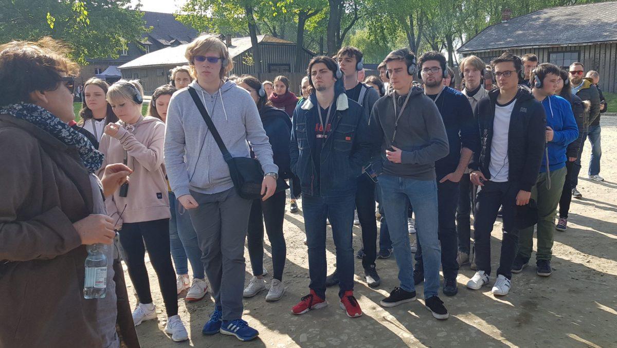 Visite en Pologne des Terminales de Saint-Charles