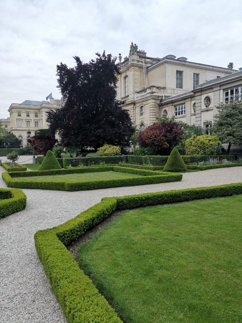 Jardins de l'Assemblée Nationale