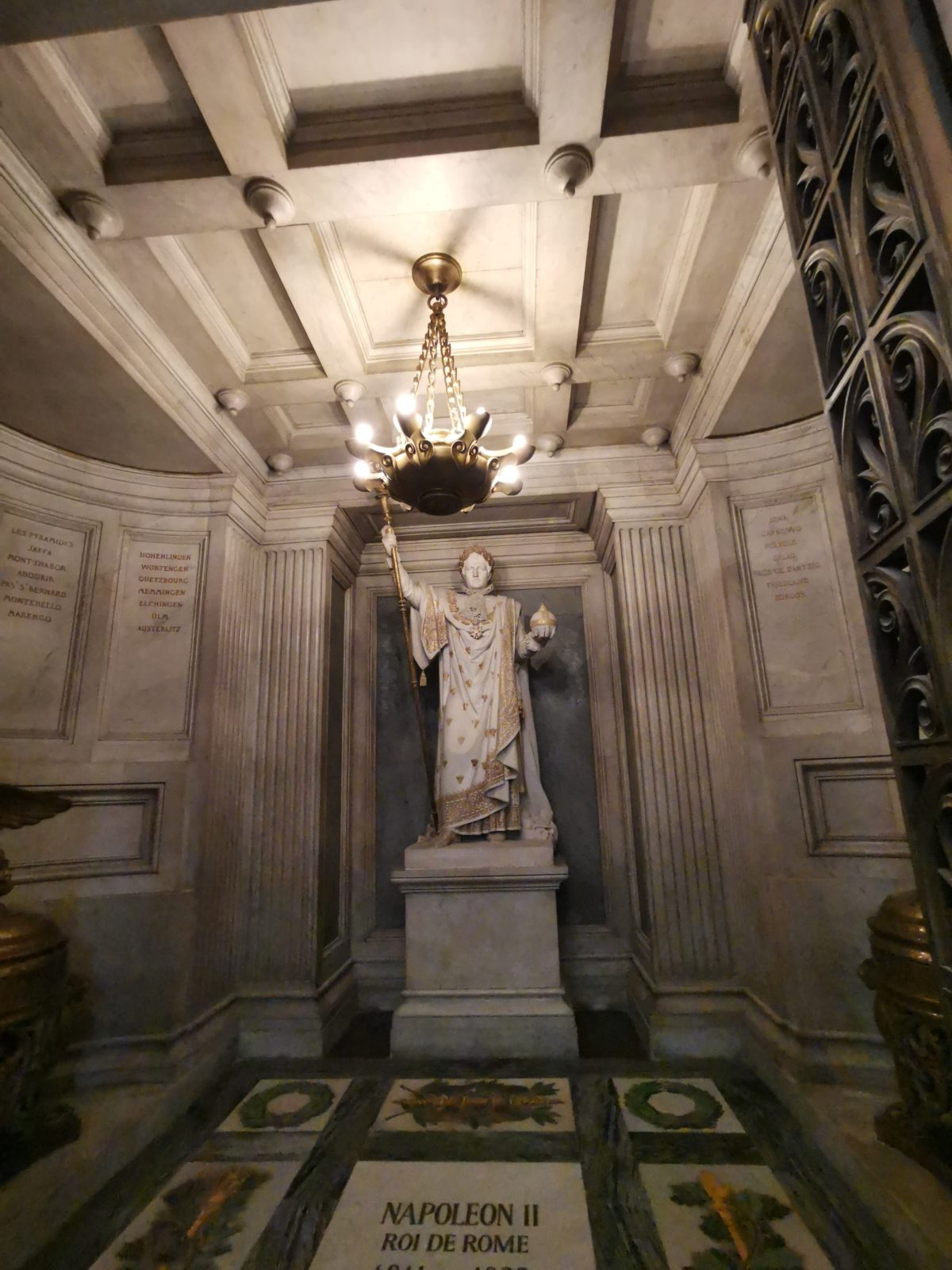 Statue de Napoléon 2 à l'Assemblée Nationale
