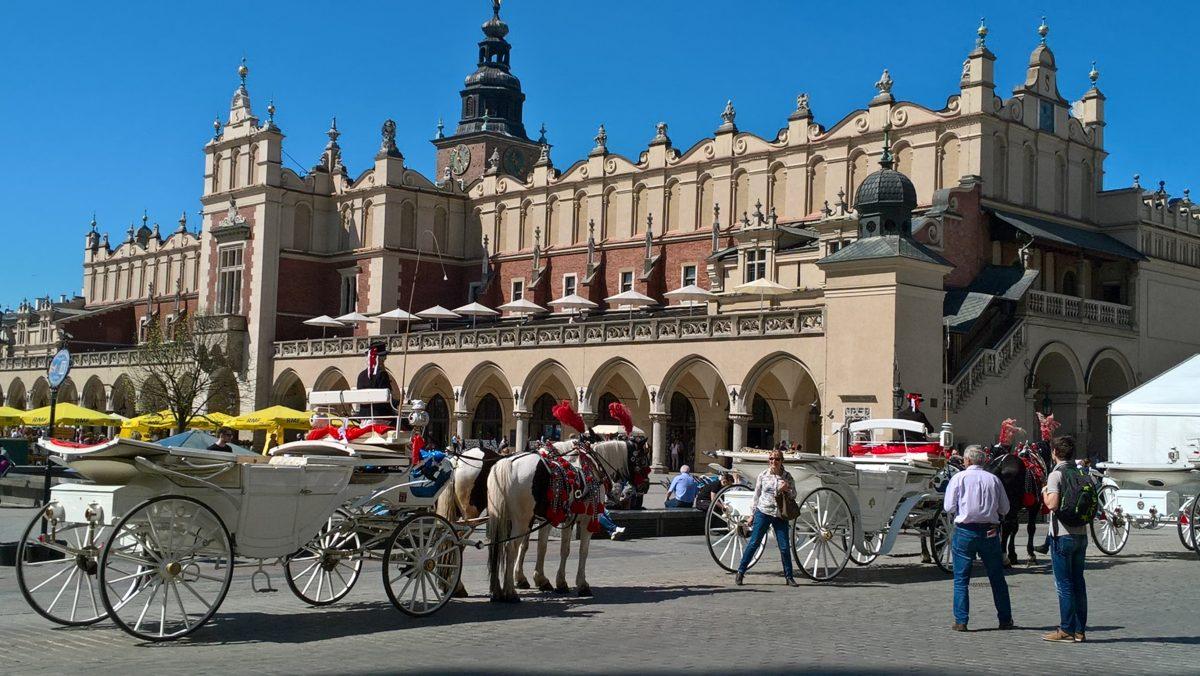 Visite de Cracovie pour les Terminales de Saint-Charles