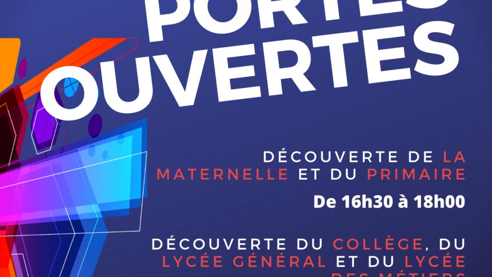Portes Ouvertes à Saint-Charles Chauny 2019
