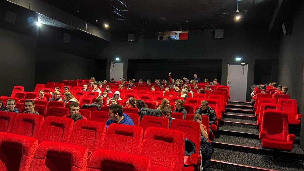 Les Bac Pro de Saint-Charles au cinéma pour voir j'accuse