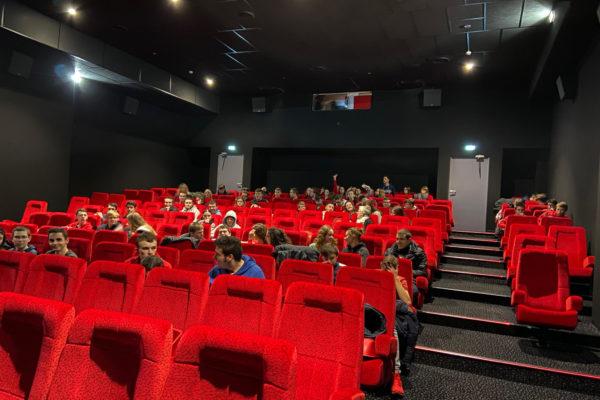 Sortie Cinéma pour les Bac Pro