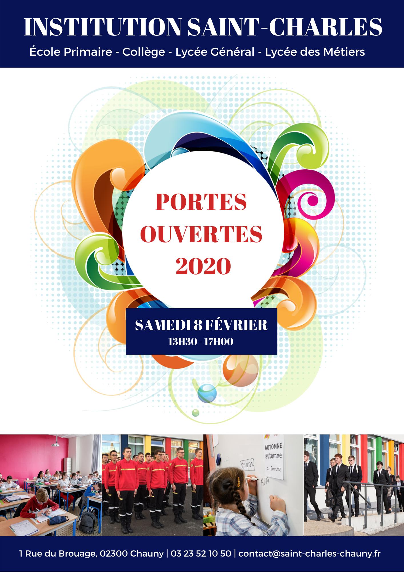 Portes ouvertes saint-charles chauny février 2020