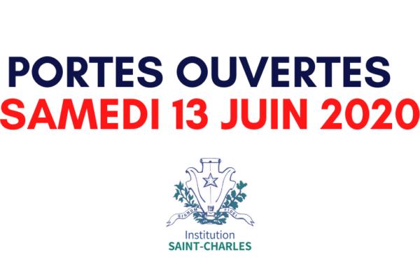Inscription en ligne pour les Portes Ouvertes du Samedi 13 Juin 2020